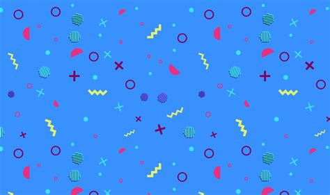 pattern background tutorial how to create a 90s geometric pattern using basic shapes