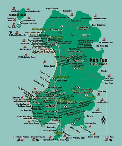 printable map koh samui large ko tao island maps for free download and print