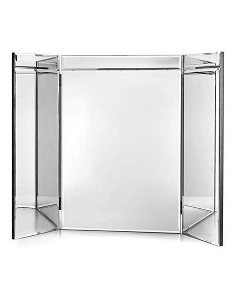 folding dressing table mirror venice tri fold dressing table mirror home gift