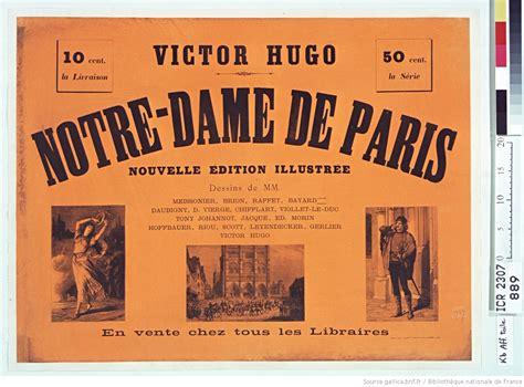 themes abordes par victor hugo victor hugo notre dame de paris nouvelle 233 dition