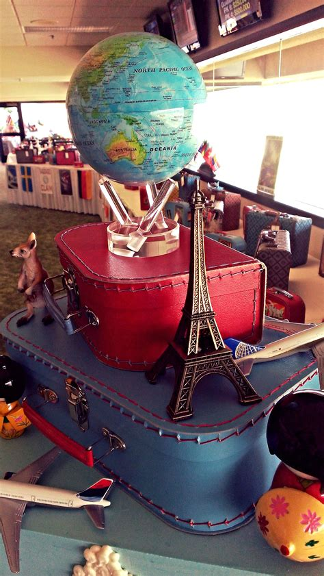 travel themed corporate event type  soiree themed