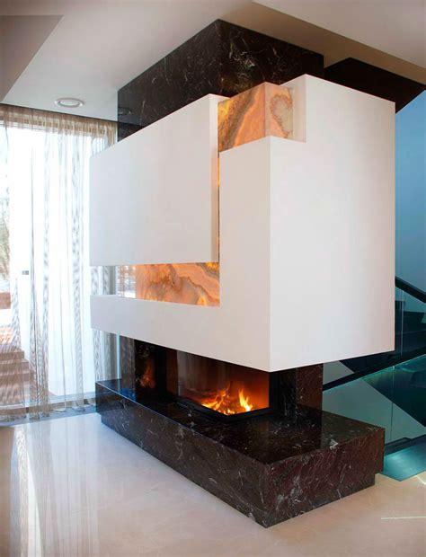 Home Furniture Interior Design Contemporary Fireplace