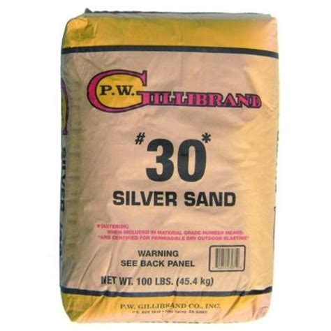 Silica Sand Home Depot by 100 Lb Silica Sand 40105601 The Home Depot