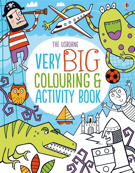libro very big colouring and very big colouring and activity book at usborne children s books