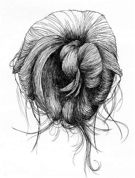 bun hairstyles drawing messy bun tumblr drawing tumblr pinterest buns