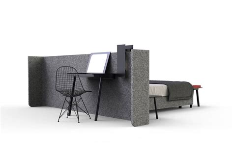 paravent bureau lit area avec paravent pour s 233 parer du coin bureau