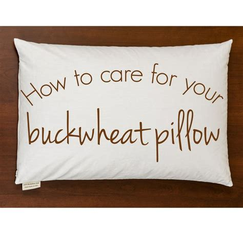 How To Clean A Buckwheat Pillow by How To Care For Your Buckwheat Pillow News Cleanses And