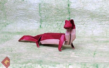 Origami Weasel - weasel gregorigami grzegorz bubniak s origami corner