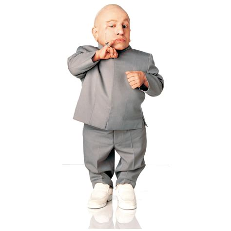 Advanced Graphics Austin Powers   Mini Me Life Size Cardboard Stand Up   390