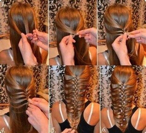 cool braids steps cool braid step by step hair tips style pinterest