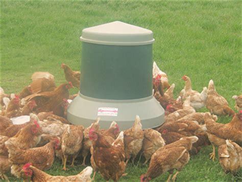Chicken Range Feeder free range poultry self feeder new