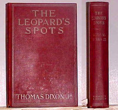 leopard s blood a leopard novel books the leopard s spots by dixon jr 1902