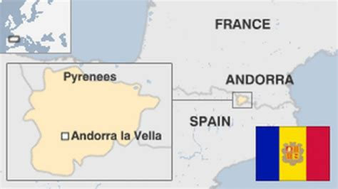 where is andorra on the map andorra country profile news