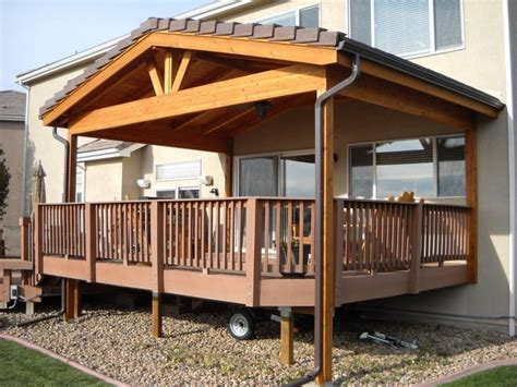 Design For Decks With Roofs Ideas Photos Of Roof Deck