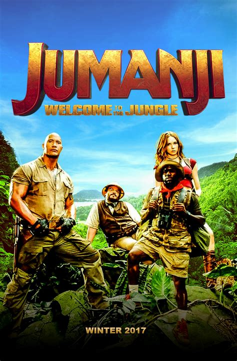 jumanji movie new jumanji 2 welcome to the jungle 2017 by edaba7 on deviantart