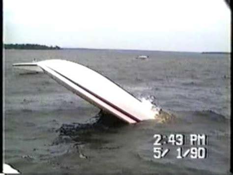 boat crash on lake conroe boat crash on lake conroe longer version youtube