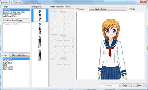 how to make a character create a new character how to comipo user manual
