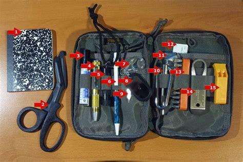 edc backpack list edc survival kit prepper