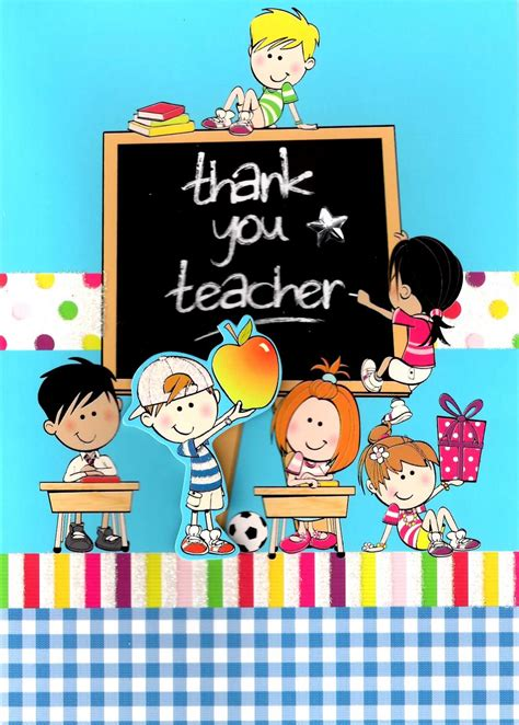 printable greeting cards teachers cute 3d thank you teacher greeting card cards love kates