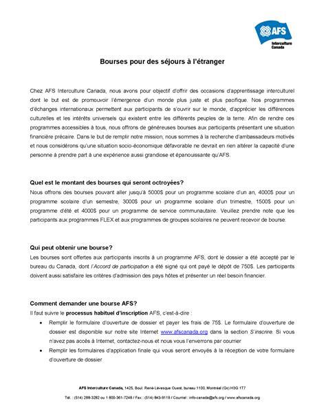 Modèle Lettre De Recommandation Bourse Exemple Lettre Bourse