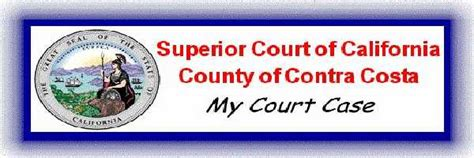 Contra Costa Court Search Welcome To Contra Costa County Superior Court