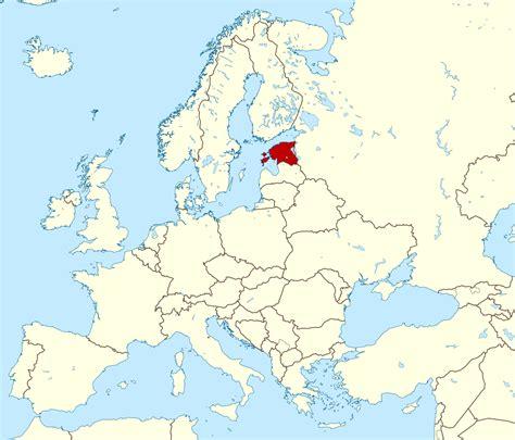 estonia on the world map large location map of estonia estonia europe