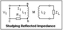 inductance reflected impedance electronics 34
