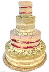 Colorful this 675 four tier milk bar cake is flavored with pistachio