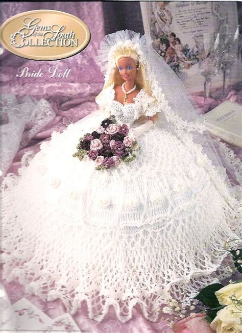 wedding dress pattern making books crochet doll clothes pattern book bride wedding dress gems