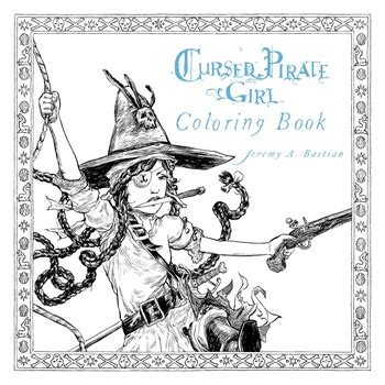 coloring book omerta cursed pirate coloring book book by bastian