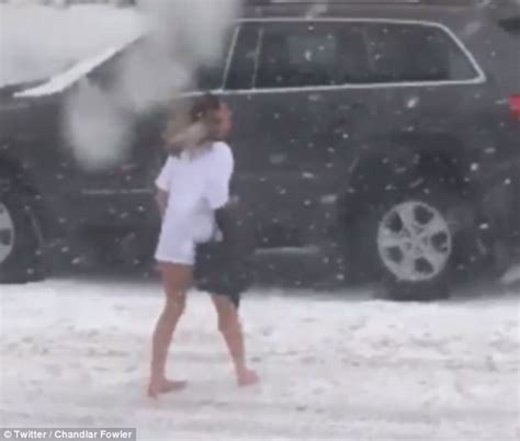 biggest womens virgina woman spotted sneaking home in west virginia snowstorm