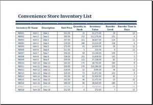 grocery inventory template convenience store inventory list template at http www