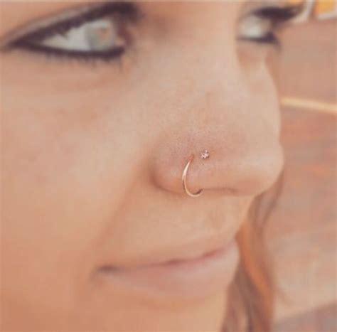 piercing no nariz tipos modelos cuidados 70 fotos