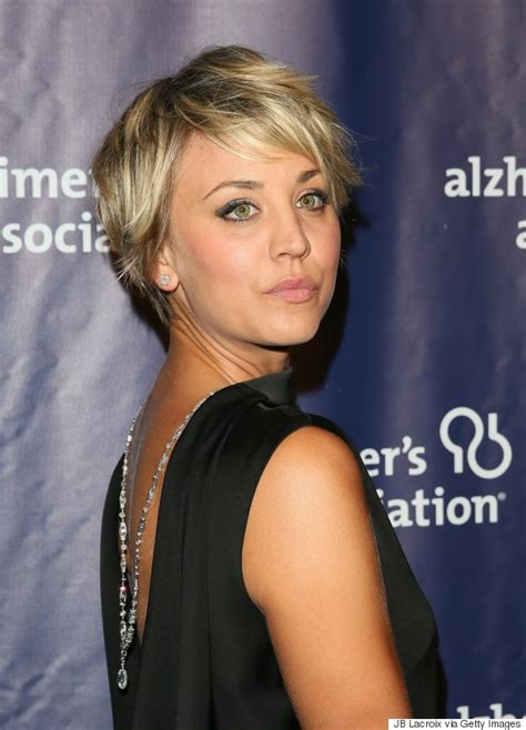 does penny like her short hair cut kaley cuoco s hair is long again thanks to extensions