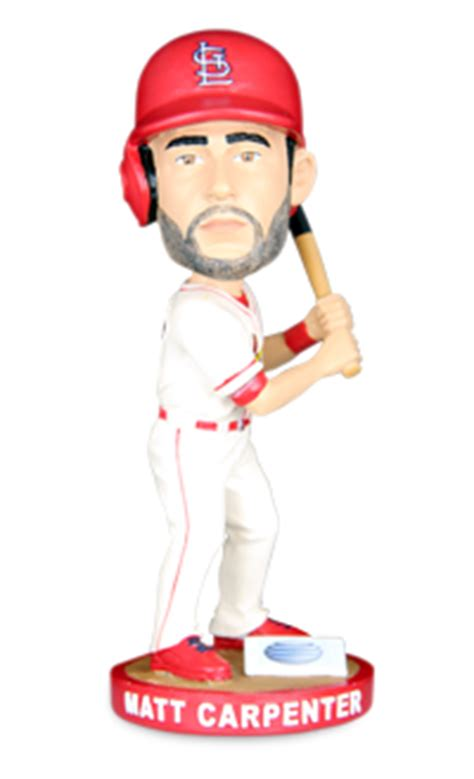 St Louis Cardinals Bobblehead Giveaways - july 18 2015 st louis cardinals vs new york mets matt carpenter bobblehead