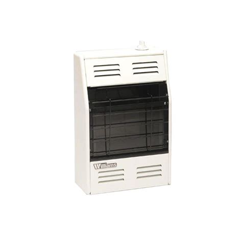 williams vented room heater williams 14 000 btu hr direct vent furnace gas heater with wall or cabinet mounted