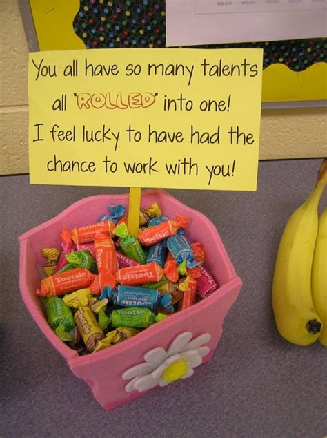 farewell letter to coworkers gift with tootsie rolls appreciation 1215