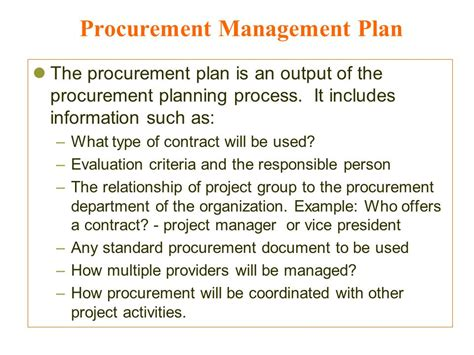 project procurement management mohammad a rob ppt video