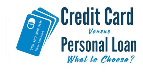 i need a house loan with bad credit credit card vs personal loan what to choose indian youth