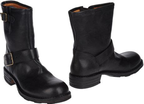 mens fiorentini and baker boots fiorentini baker ankle boots in black for lyst