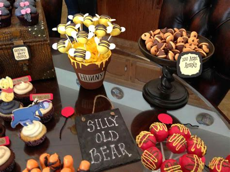 Classic Winnie The Pooh Baby Shower Ideas by Classic Pooh Baby Shower Decorations Applmeapro Club