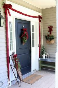 best 25 christmas front doors ideas on pinterest front