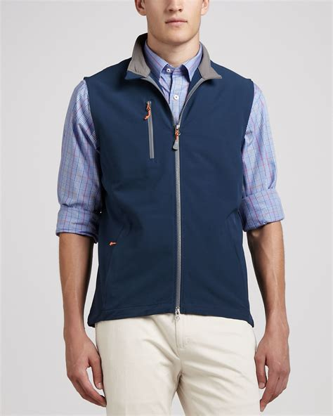 millar winnipeg windblock vest midnight in blue for