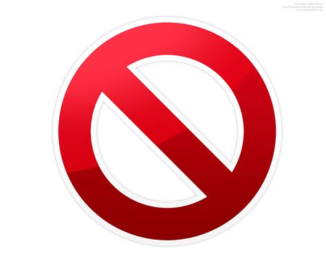 symbol for warning stop and do not symbol psdgraphics