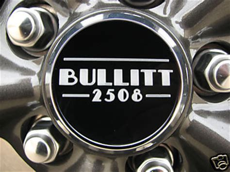 custom bullitt wheel center caps  production number