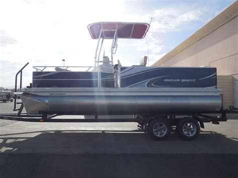 qwest pontoon 2015 new angler qwest 820 fish820 fish pontoon boat for