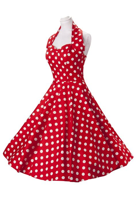 red polka dot swing dress vivien of holloway dress red polka dot halterneck 50s