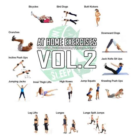 at home exercises vol 2 workout healthy