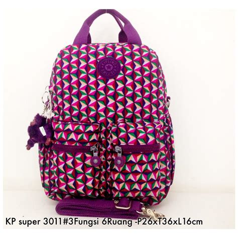 A6267 Tas Ransel Kipling Backpack 3in1 Laptop tas ransel kipling backpack handbag selempang 3in1 6 r