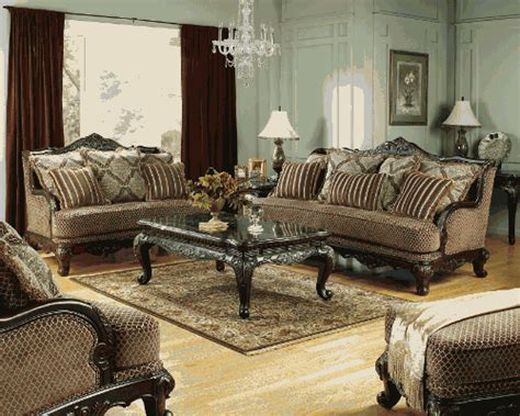 avelon antique living room set by furniture
